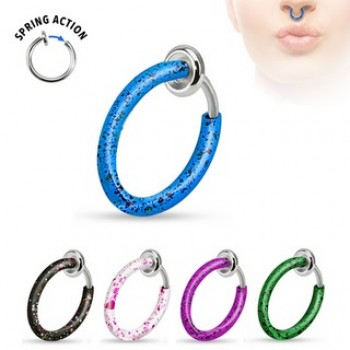 Non Piercing Splat Septum Nose Hoop Ear Ring