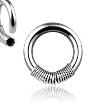 Spring Coil Captive Ring