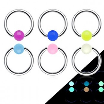 Glow Ball Captive Ring