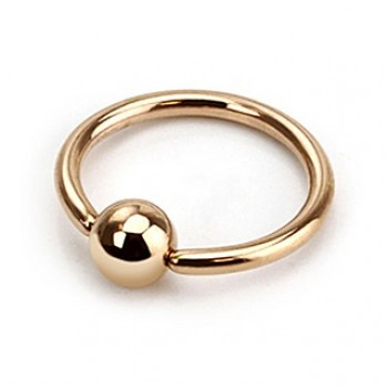 Rose Gold IP Captive Ring