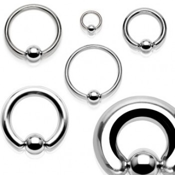 Surgical Steel Captive Ring