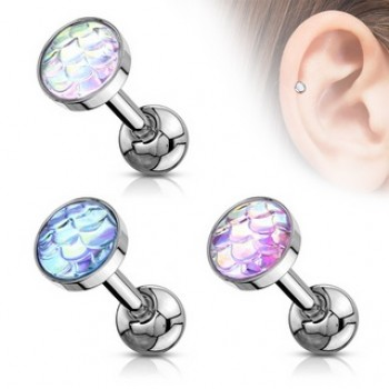 Fish Scale Look Tragus Cartilage Bar