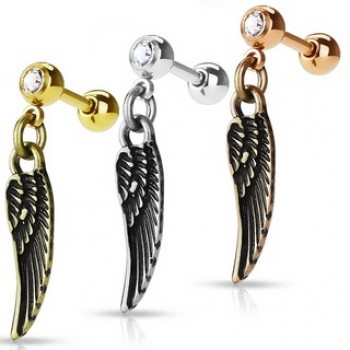 Wing Dangle Cartilage Tragus Bar