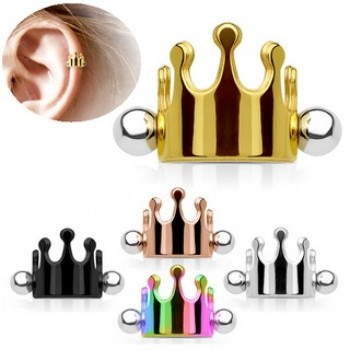 Crown Helix Cartilage Ear Cuff