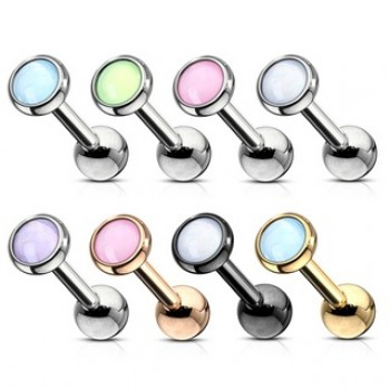 Illuminating Stone Cartilage Tragus Bar