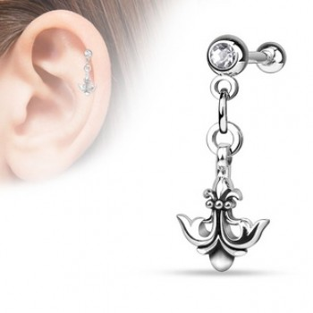 Anchor Dangle Cartilage Tragus Bar