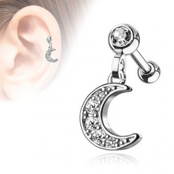 Moon Cartilage Tragus Bar