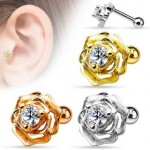 CZ Flower Cartilage Tragus