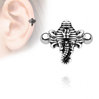 Elephant Helix Cartilage Ear Cuff