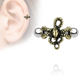 Snake Helix Cartilage Ear Cuff