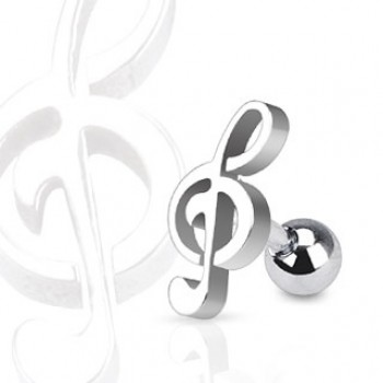 Music Tragus Cartilage Bar