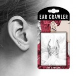 1 Pair Leaf Ear Crawlers