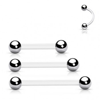 PTFE Eyebrow Belly Bar