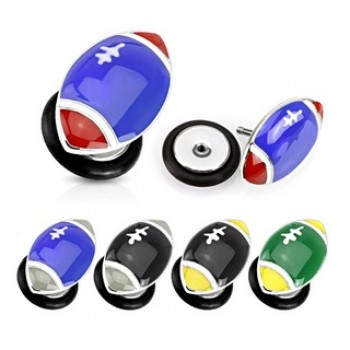 FootBall Fake Ear Plug
