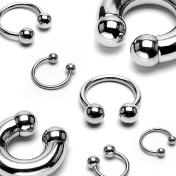 Surgical Ball Horse Shoe Ring
