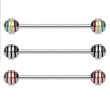 Stripe Industrial Barbell