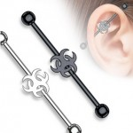 Biohazard Industrial Barbell