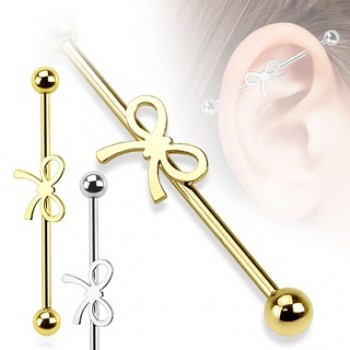 Ribbon Industrial Barbell