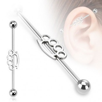 Knuckle Industrial Barbell