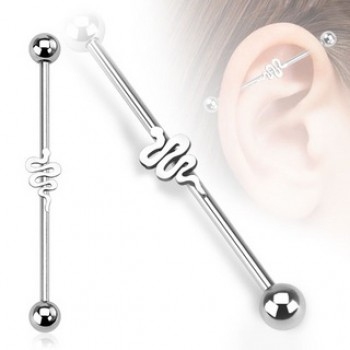 Snake Industrial Barbell