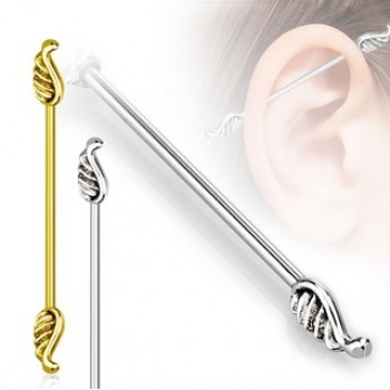 Wing Industrial Barbell