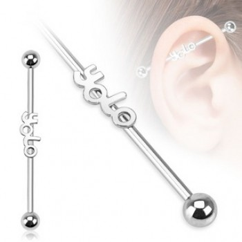 YOLO Industrial Barbell