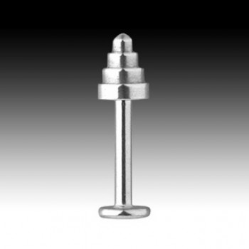 7mm Step Cone Labret Bar