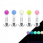 Glow In Dark Ball Labret