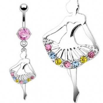 Ballerina Navel Dangle