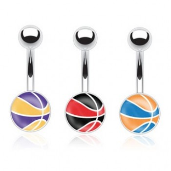 BasketBall Belly Ring