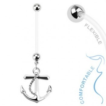 Pregnancy Anchor Navel Ring Belly Dangle
