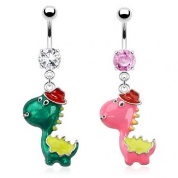 Dinosaur Navel Dangle