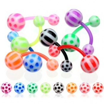 BioFlex Soccer Ball Navel Bar