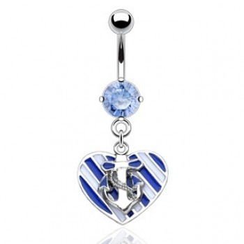 Sailing Heart Dangle