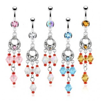 Bead Chandelier Navel