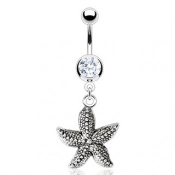 Vintage Starfish Dangle