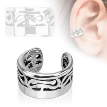 Tribal Fake Ear Ring Cuff