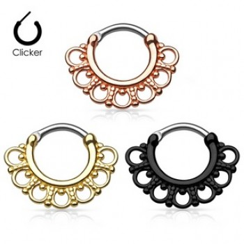 Septum Ring Clicker