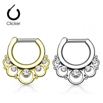 Floral Septum Clicker