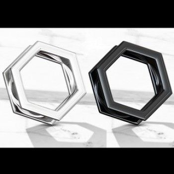 Hexagon Screw Fit Ear Tunnel