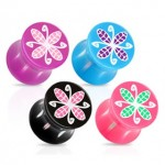Flower Saddle Ear Plug