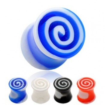 Swirl Saddle Ear Plug