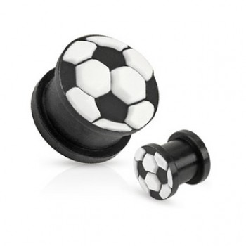 Soccer Ball Ear Plug