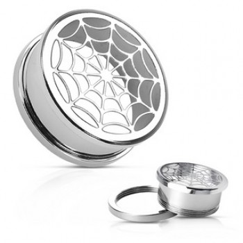 Hollow Spider Web Ear Tunnel