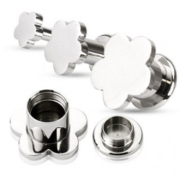 Flower Screw Ear Tunnel