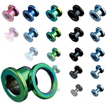 Titanium Screw Ear Tunnel